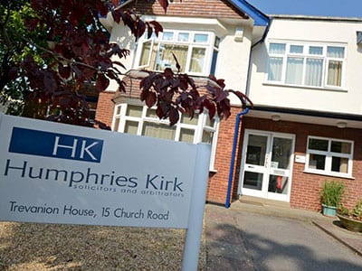 Humphries Kirk Solicitors in Dorset, Somerset, Parkstone Office