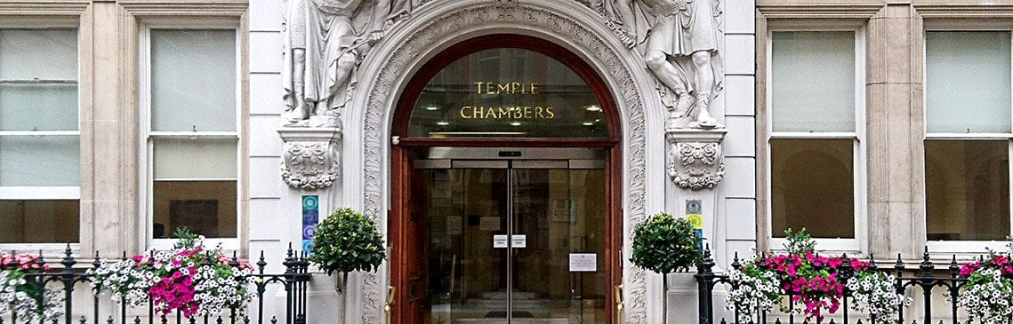Temple Chambers London Banner