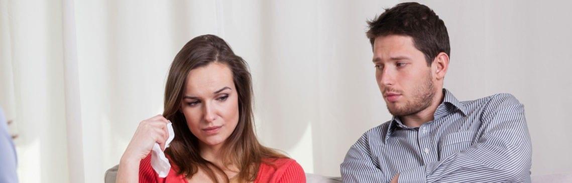 marriage break up