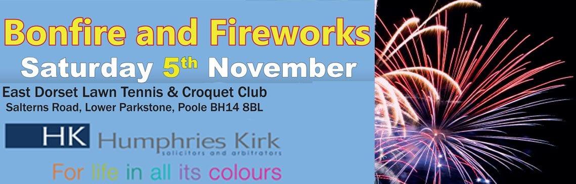 East Dorset Tennis Club Fireworks 2016