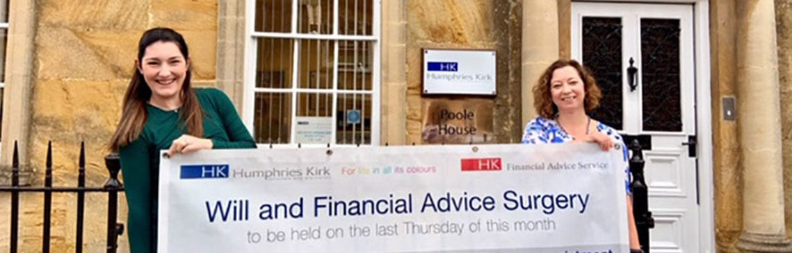 Will advice surgery at Humphries Kirk